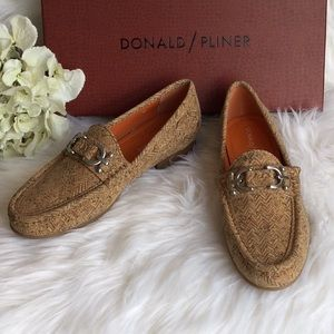 🆕Donald Pliner Suzy Cork Loafers NWT